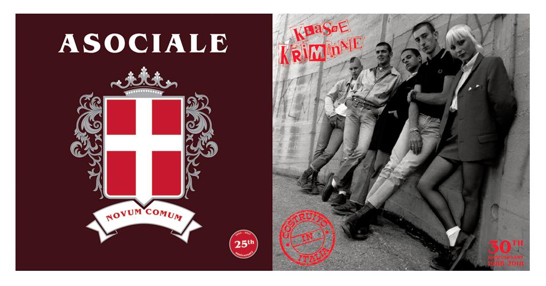 "Latest releases: Asociale and Klasse Kriminale 7""s"